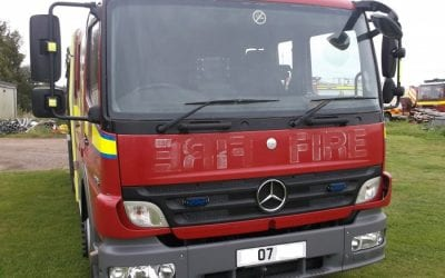 Mercedes Atego Fire Engine