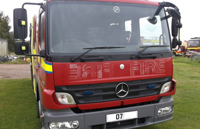 Mercedes Atego Fire Engine