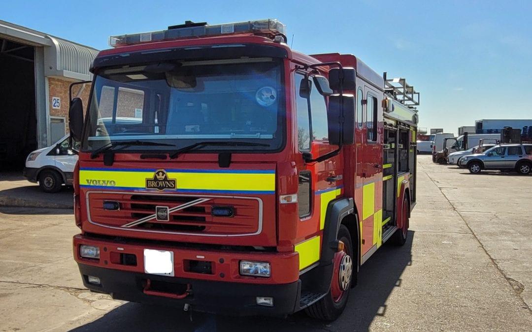 Volvo FL250 Fire Engine